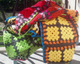 World of Colour Blanket Throw