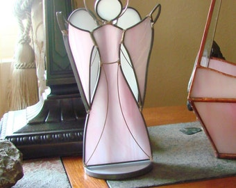 Welcome Angel - Stained Glass Standing Angel
