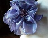 SALE Flower Applique in Lilac for Lyrical Dance, Bridal, Tribal Fusion, Headbands, Handbags, Sashes, Costume Design