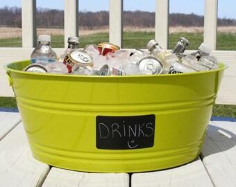 Large Rectangle Chalkboard Labels Set, organization, parties, weddings, mason jars, totes