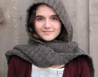 muir wood hooded scarf