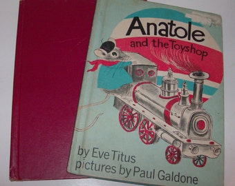 Two Anatole Children Books (Code b)