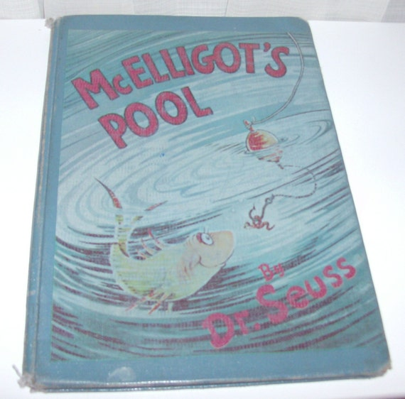 1975 McElligot's Pool By Dr. Seuss Children's Book (Code b)