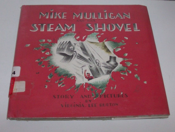 1967 Mike Mulligan and His Steam Shovel Children's Book (Code b)