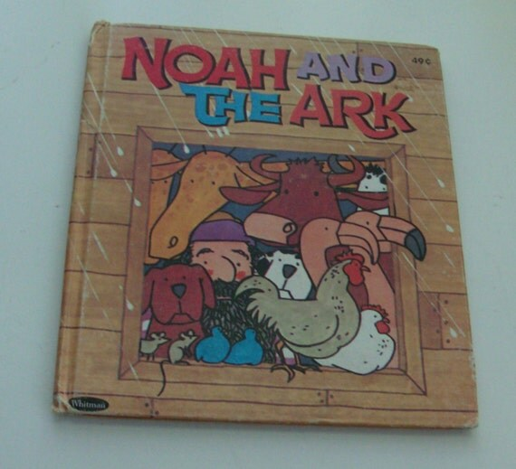 1967 Noah and the Ark Children's Book