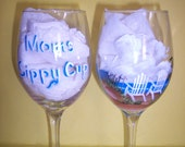 """Moms Sippy Cup  /  Dad's //Grandma""""s //  You tell us what you would like to say !!!"""