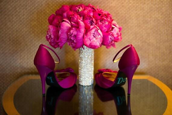 Rhinestone Bridal Bouquet Cuff Large Bling Wrap Rhinestone Wrap Wedding Accessories...The Original BridalBling