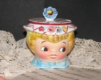 Lefton Dainty Miss Jam Pot