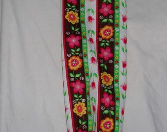 Spring Flowers Grocery Bag Holder