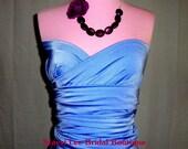 Cornflower Blue Bridesmaids Wrap/Twist Dress...67 Colors ... Bridesmaids, Beach, Holidays, Cocktail Party