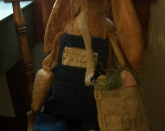 My Primitive PETER BUNNY RABBIT Pattern