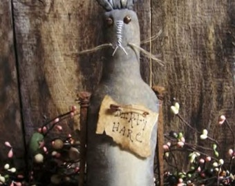 My Primitive DIRTY HARE Rabbit Easter Pattern