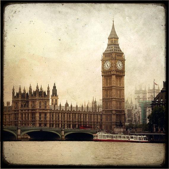 Big Ben  - Fine Art Print - London Photography - Etsy Wall Art - TFTeam - London Architecture Photograph