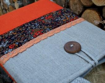 Laptop Sleeve Case Cover  for 13 inch macbook/ linen/ pocket