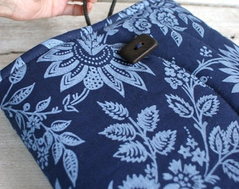Laptop Sleeve Case Cover for 13 inch macbook/ linen/ padded