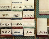 Counted Cross Stitch Patterns Border Crossings Towel Border Patterns Holidays Country Seasons