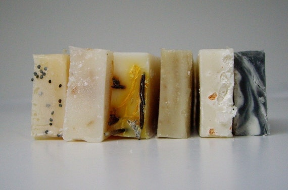 Ends and Pieces Soap Samples Organic Ingredients