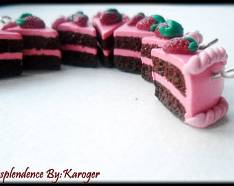 SALE 40% OFF- Chocolate Strawberry Cake