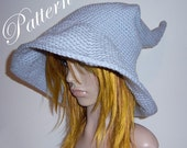 """Grey Wizard Hat """"""""""""P A T T E R N"""""""""""""""