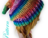 """Fantasy Fae Slouch Hat """"""""""""P A T T E R N"""""""""""""""