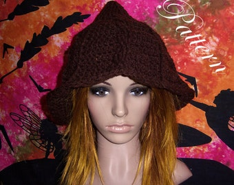"Earthy Witch Hat """"""P A T T E R N"""""""