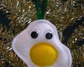 Mr. Fried Egg Ornament