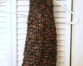 Hand Knitted Mohair Neckwarmer