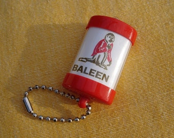 Collectible Keyring with the Monkey Baleen with light