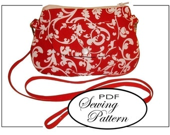 INSTANT DOWNLOAD Curvy Purse On-The-Go