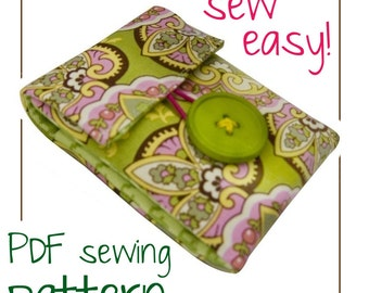 Swanky Little Phone Case ((INSTANT DOWNLOAD)) PDF Sewing Pattern