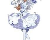 Blue Gothic Lolita