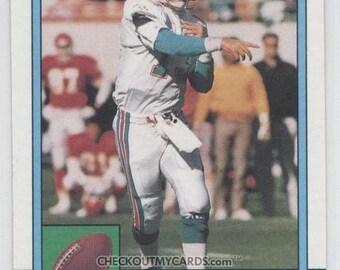 1990 Topps DAN MARINO Hall of Famer QB Football Card Dolphins