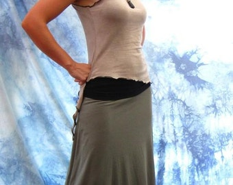 Soy or Bamboo Organic Cotton Skirt/Dress/Poncho