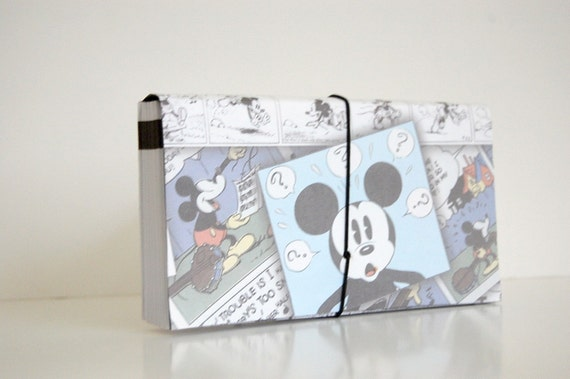 Coupon Organizer/Holder/File/ACCORDION/Mickey Mouse