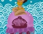 Jellydancer - art print 8x10
