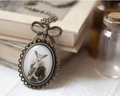 Lady Deer necklace - Victorian jewelry (N063)