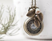 Victorian Pocket Watch necklace (PW010)