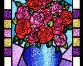Glitter Rose Bouquet