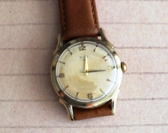 Vintage Elgin Wrist Watch by avintageobsession on etsy...20% Discount