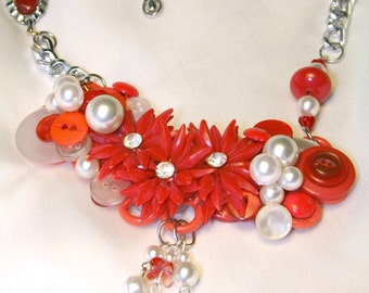 Cheerful as Cherry Pie - Beads & Baubles Necklace