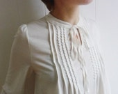 Sweet Blouse w Crochet, 2015 trends, Regular and Plus Size available