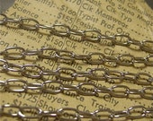 Silver Cable Chain 6 Feet