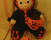 PDF Pattern Tomas the Halloween cat