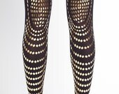 Black & gold Goldfiish tights available in S-M L-XL
