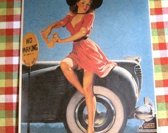 Pin up Girl No One Can Pintch Me Elvgren