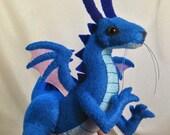 Baby dragon plush pattern