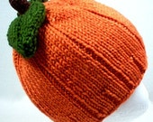 Pumpkin Hat Kids Costume Leaves baby preemie newborn toddler 3 6 9 12 18 months child teen adult Thanksgiving Halloween