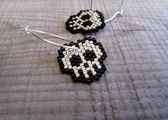 Earrings - Silver Skulls