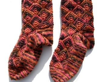 Infant Fairytale Socks Orange/Pink, EU size 26