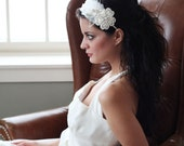 Sparkle Rhinestone and Feather bridal or special occasion headband
